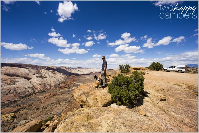 Burr Trail, Stanton Road & Halls Creek Overlook