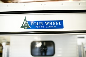 four wheel pop-up camper