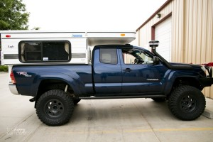 four wheel pop-up camper