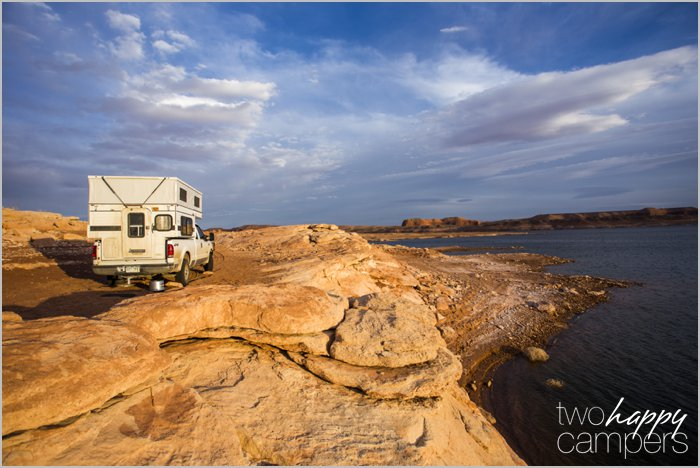 Stanton Creek Campground: Camping on the shore of Lake Powell