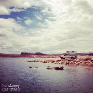 Lake Powell truck camping