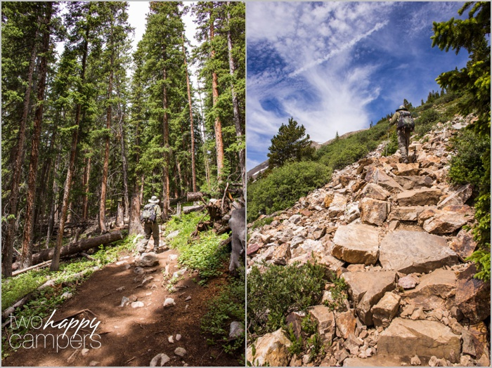 quandry peak trail