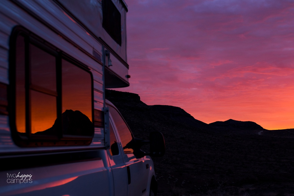 Arizona boondocking and camping
