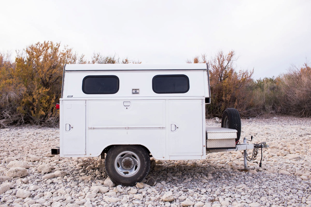 camping utility trailer