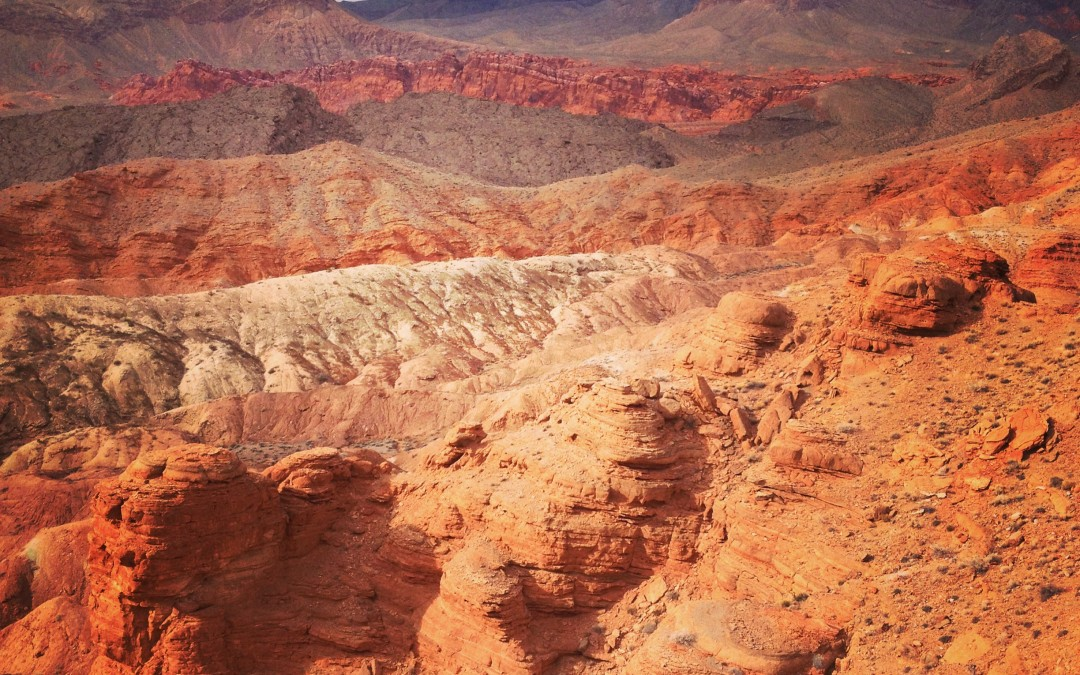 Scenic Drive: Northshore Road at Lake Mead National Recreation Area, Nevada
