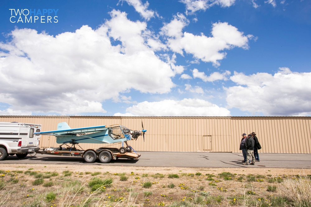 We bought a Kitfox airplane (and trailered it home)!