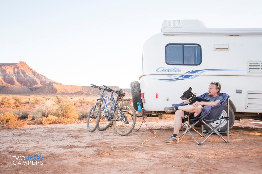 free camping utah