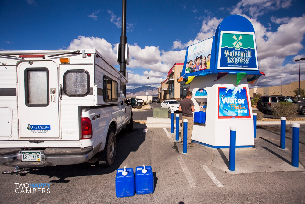 One night in Pahrump, NV & what our resupply days are like