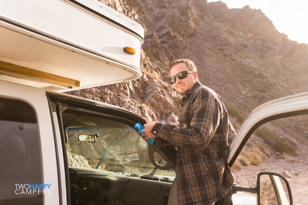 death valley camping